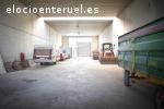 Se vende nave de 1000m en Poligono la Paz en Teruel
