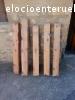 vendo canes de madera vieja para alero de tejado